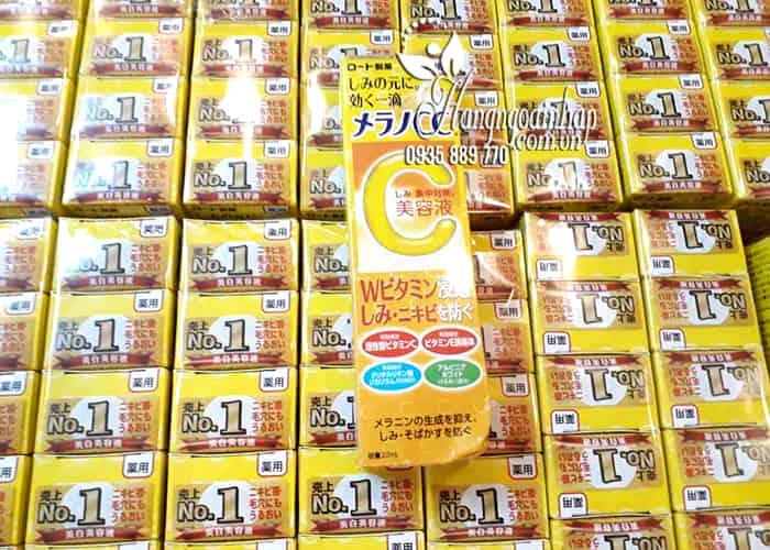 Serum Vitamin C Melano CC Rohto Nhật Bản 20ml 10