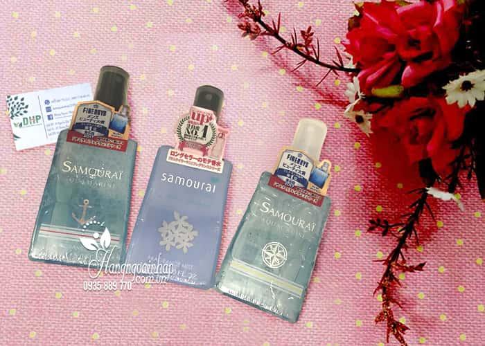Xịt thơm toàn thân Samourai Fragrance Mist 150ml Nhật Bản 1