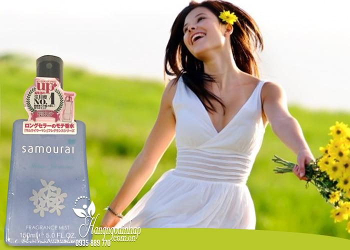 Xịt thơm toàn thân Samourai Fragrance Mist 150ml Nhật Bản 2