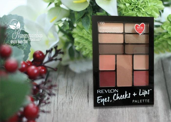 Bộ trang điểm đa năng Revlon Eyes, Cheeks, Lips Palette của Mỹ