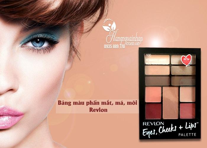 Set trang điểm đa năng Revlon Eyes, Cheeks, Lips Palette của Mỹ