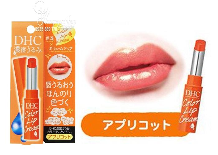 Son dưỡng có màu DHC Color Lip Cream chính hãng Nhật Bản