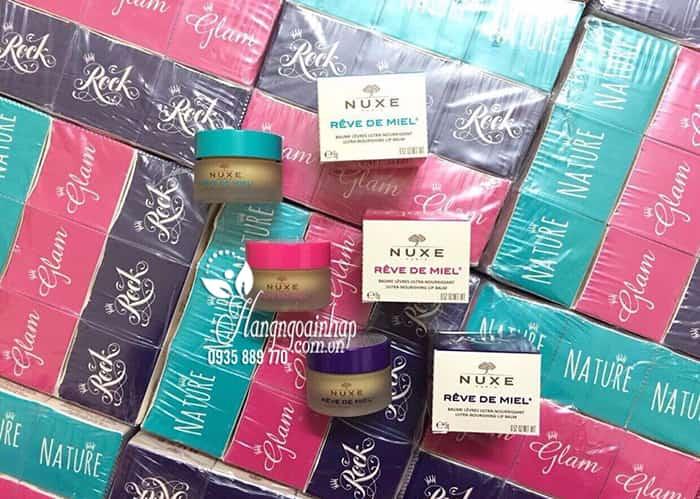 Son dưỡng môi Nuxe Rêve De Miel hũ 15g của Pháp giá tốt 2