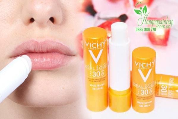 Son dưỡng môi Vichy Ideal Soleil SPF 30+ Lip Stick của Pháp