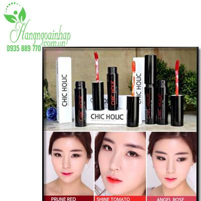 Son kem lì Chic Holic Long Lasting Fix Lip Lacquer Hàn Quốc