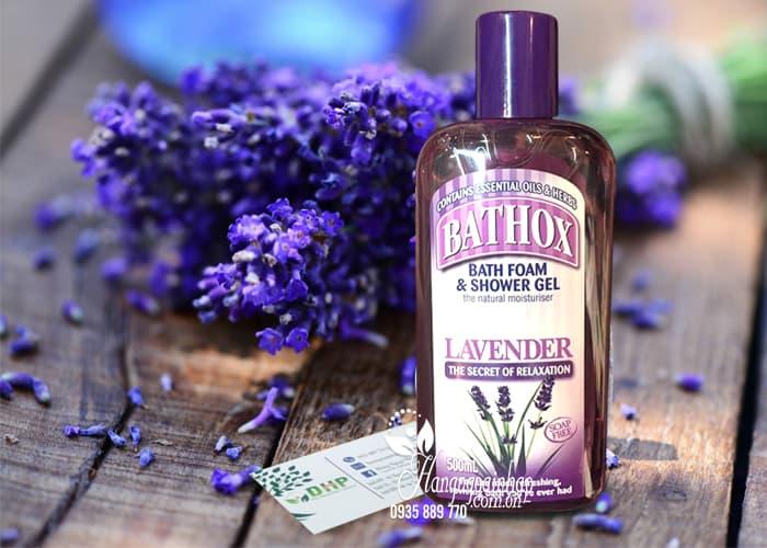 Sữa tắm Bathox Lavender 500ml mùi hoa oải hương của Úc 1