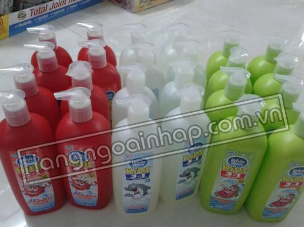 Sữa tắm gội xả cho bé White Rain Kids 3 in 1 Mỹ