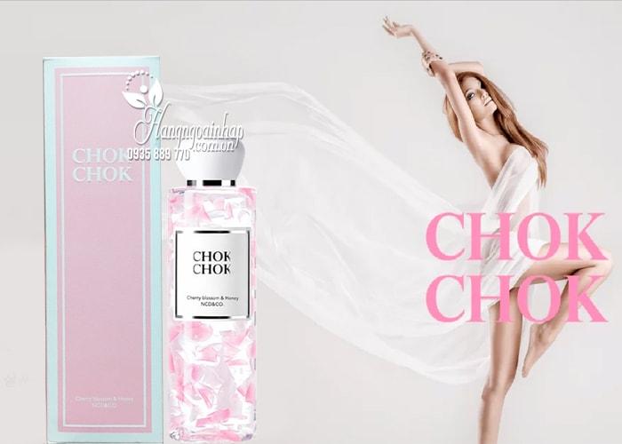 Sữa tắm Chok Chok Cherry Blossom & Honey 250g Hàn Quốc 1