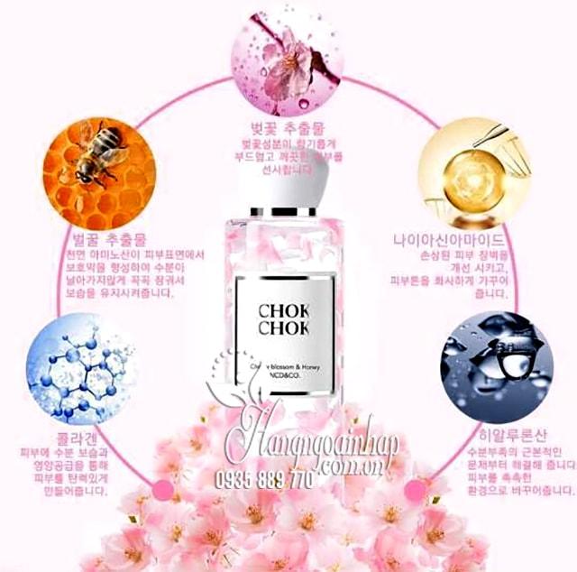 Sữa tắm Chok Chok Cherry Blossom & Honey 250g Hàn Quốc 2
