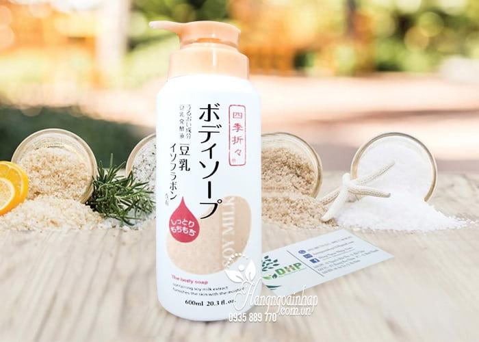 Sữa tắm dưỡng ẩm sữa đậu nành Soy Milk The Body Soap 600ml 1