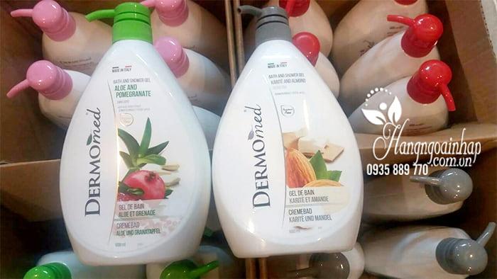 Sữa tắm dưỡng da Dermomed Bath & Shower Gel 1000ml của Ý 6