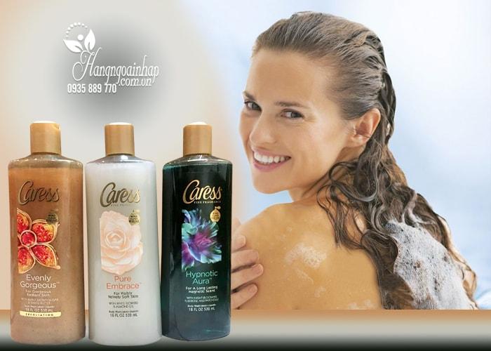 Sữa tắm dưỡng da hương nước hoa Caress 532ml