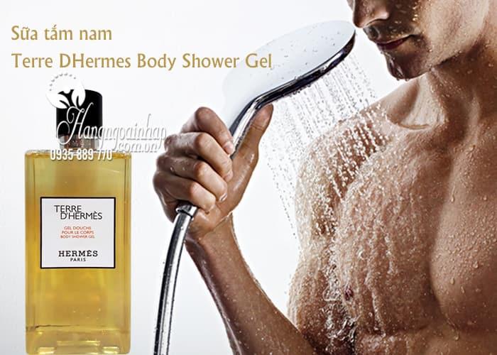 Sữa tắm nam Terre DHermes Body Shower Gel 200ml của Pháp 1