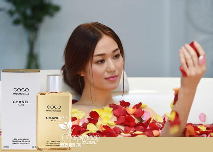 Sữa tắm nước hoa Chanel Coco Mademoiselle Gel Moussant 200ml hương thơm quyến rũ