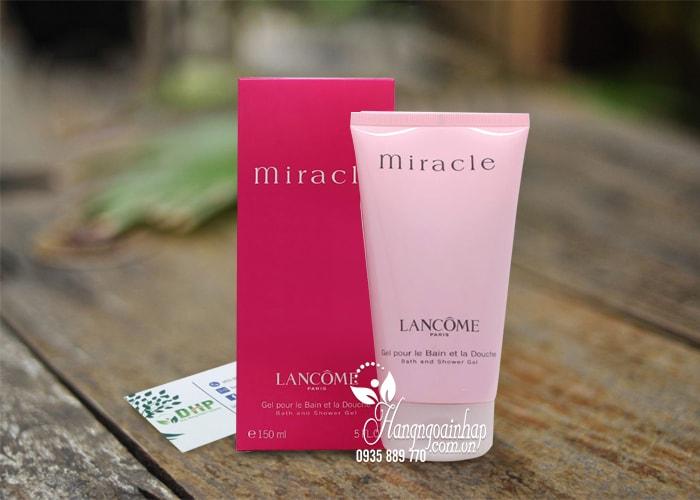 Sữa tắm hương nước hoa Lancome Miracle Bath and Shower Gel 150ml  1
