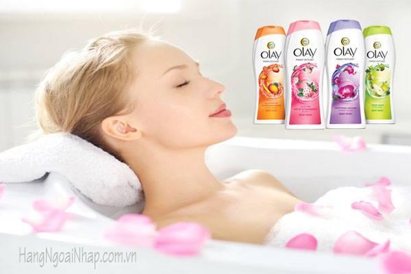 Sữa tắm Olay Fresh Outlast Body Wash của Mỹ