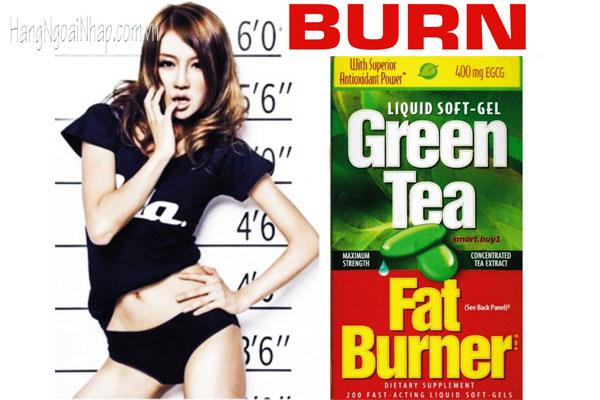 Viên Uống Giảm Cân Trà Xanh Green Tea Fat Burner 400mg Hộp 200 Viên