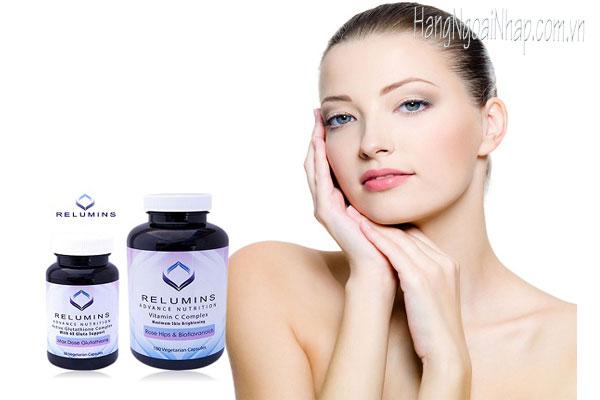 Viên uống trắng da Relumins Vitamin C Complex 180 viên