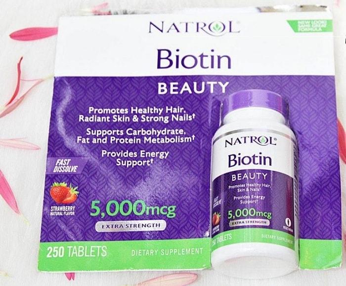 Nên uống Biotin trong bao lâu? Trước hay sau bữa ăn? (3)