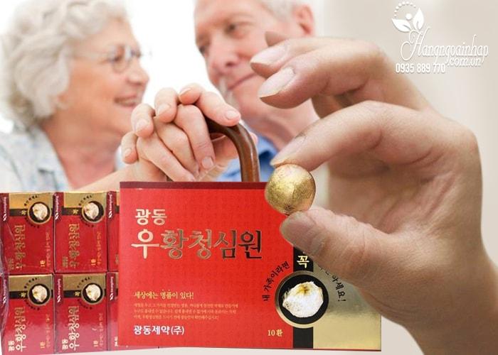 An Cung Ngưu Hoàng Hoàn Kwang Dong Hàn Quốc Hộp đỏ