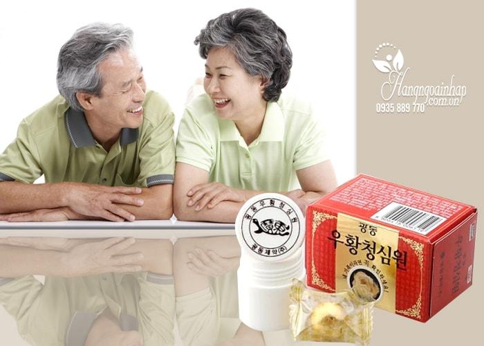 An Cung Ngưu Hoàng Hoàn Kwang Dong Hộp đỏ 10 viên  Hàn Quốc