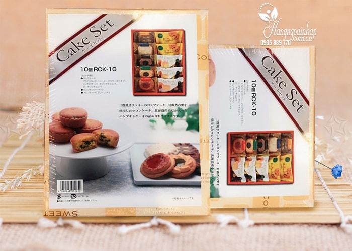 Hộp bánh Cake Set 500g của Nhật