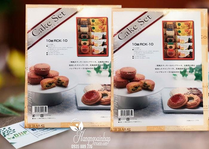 Hộp bánh Cake Set của Nhật Bản 500g