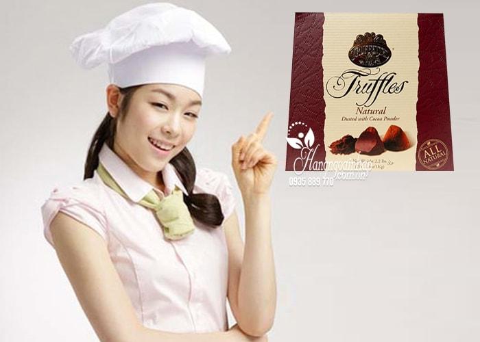 Socola cao cấp Truffettes de France Truffles Natural 1kg của Pháp