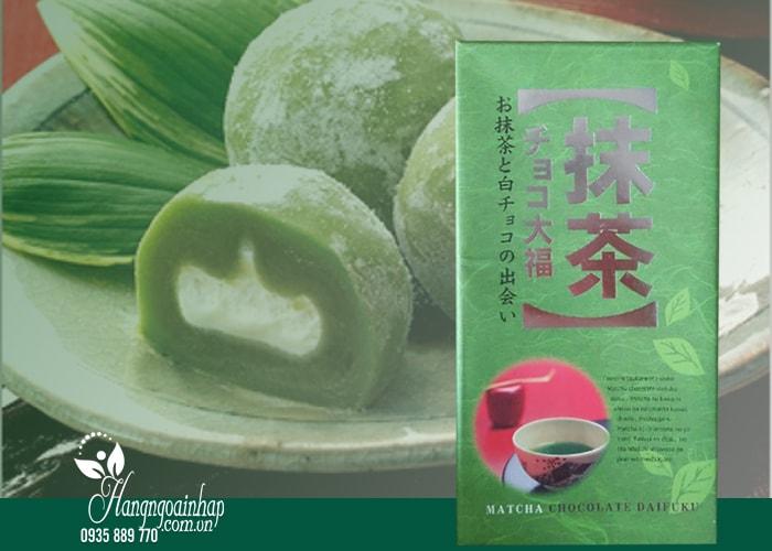 Bánh Mochi trà xanh Daifuku hộp 18 cái của Nhật Bản