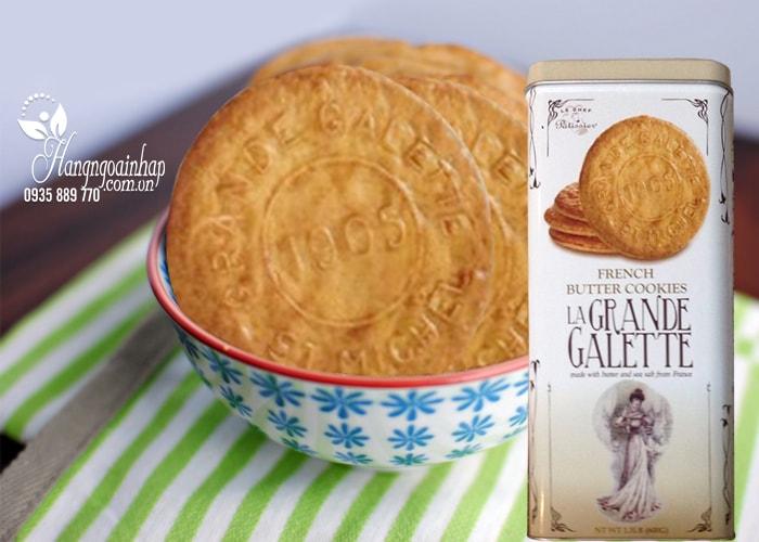 Bánh quy bơ La Grande Galette French Butter Cookies 600g