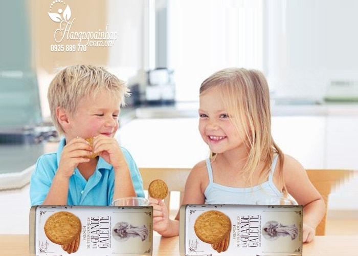 Bánh quy bơ La Grande Galette French Butter Cookies của Pháp
