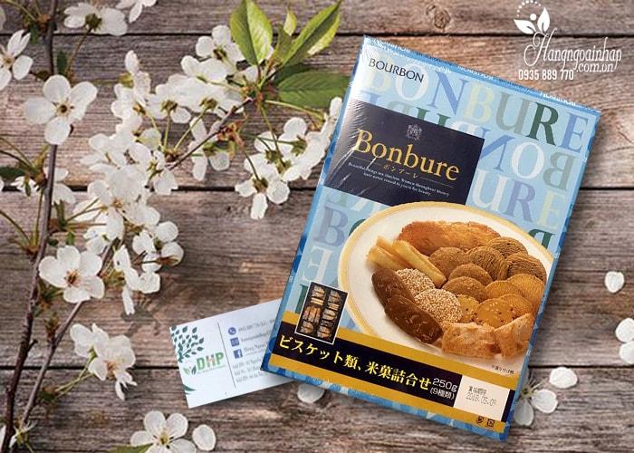 Bánh thập cẩm Bourbon Bonbure Nhật Bản 9 loại