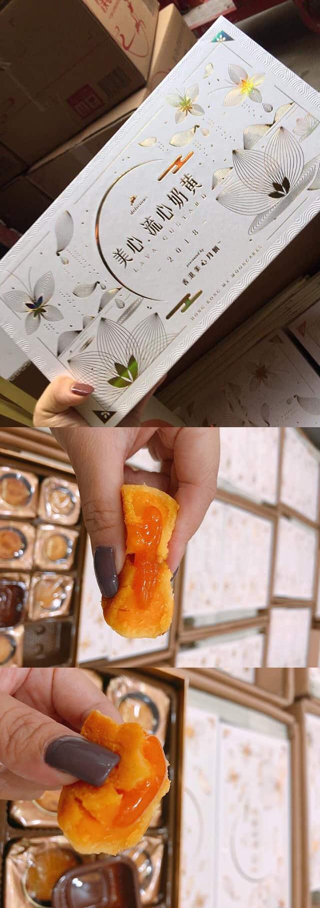Bánh trung thu lava trứng chảy 2018