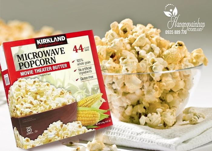 Bắp rang bơ Kirkland Signature Microwave Popcorn 4,1kg của Mỹ