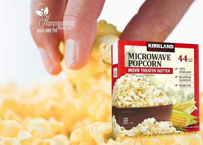 Bắp rang bơ Kirkland Signature Microwave Popcorn 4,1kg