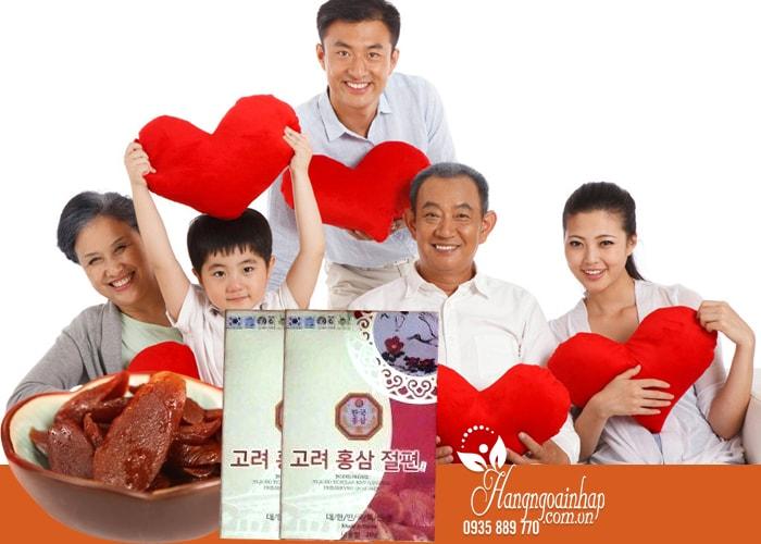 Bộ quà tặng hồng sâm của Hàn Quốc, sâm lát, trà sâm, nước sâm