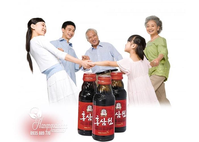 Bộ quà tặng nhân sâm của Hàn Quốc, sâm lát, trà sâm, nước sâm