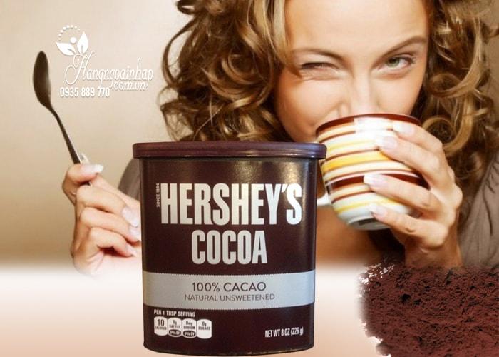 Bột cacao không đường Hershey's Cocoa 226g