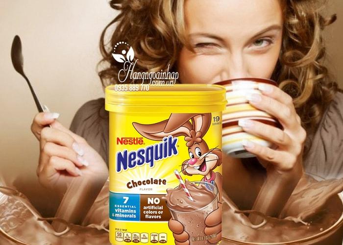 Bột cacao sữa Nestle Nesquik Chocolate của Mỹ