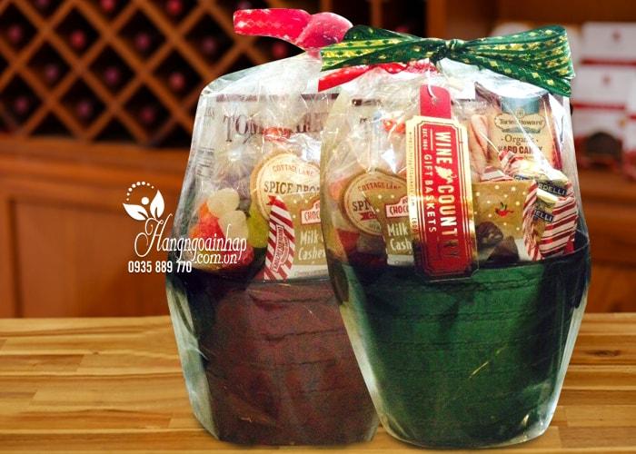Giỏ quà Tết mini Wine Country Gift Basket của Mỹ