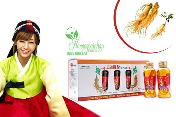 Nước hồng sâm có củ KGS Hàn Quốc 10 lọ