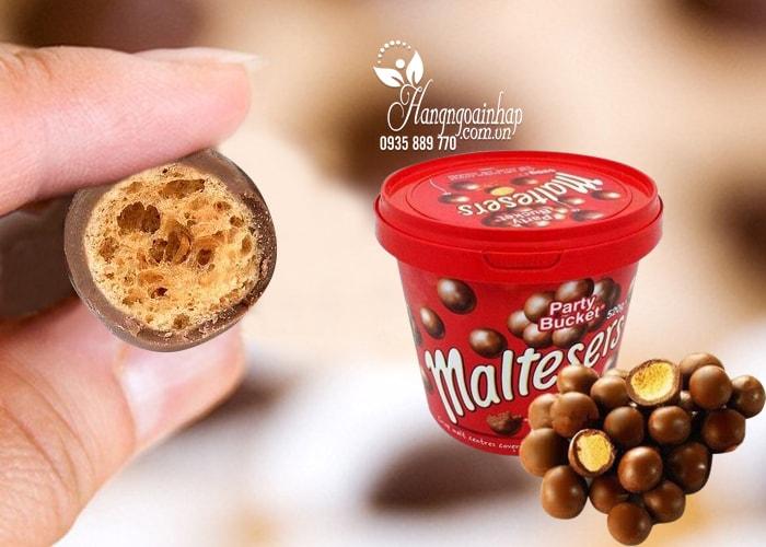 Hộp kẹo Socola Maltesers Party Bucket 520g
