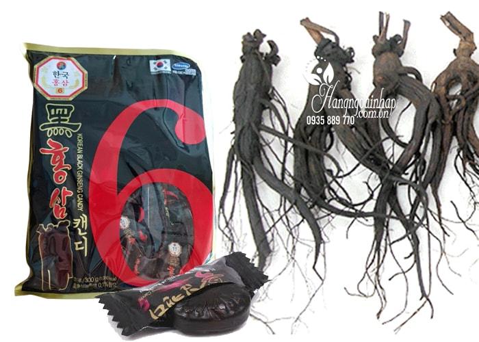 Kẹo sâm đen không đường của Hàn Quốc 300g