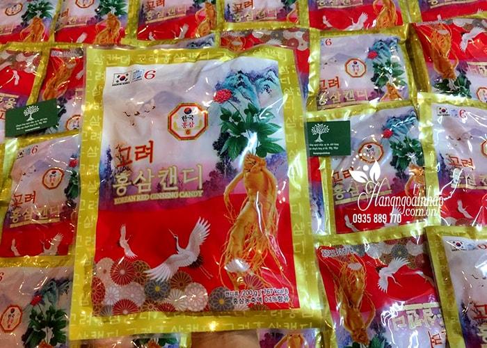 Kẹo hồng sâm con hạc Red Ginseng Candy của Hàn Quốc