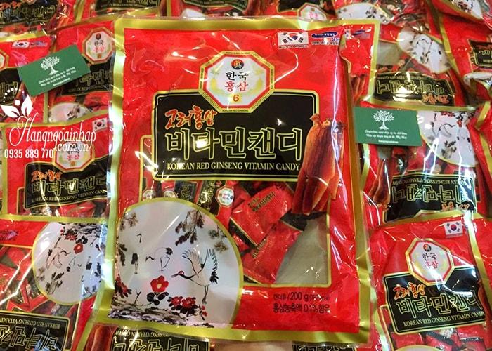 Kẹo hồng sâm Red Ginseng Candy 200g Hàn Quốc