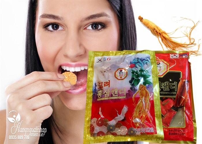 Kẹo hồng sâm con hạc Red Ginseng Candy 200g của Hàn Quốc