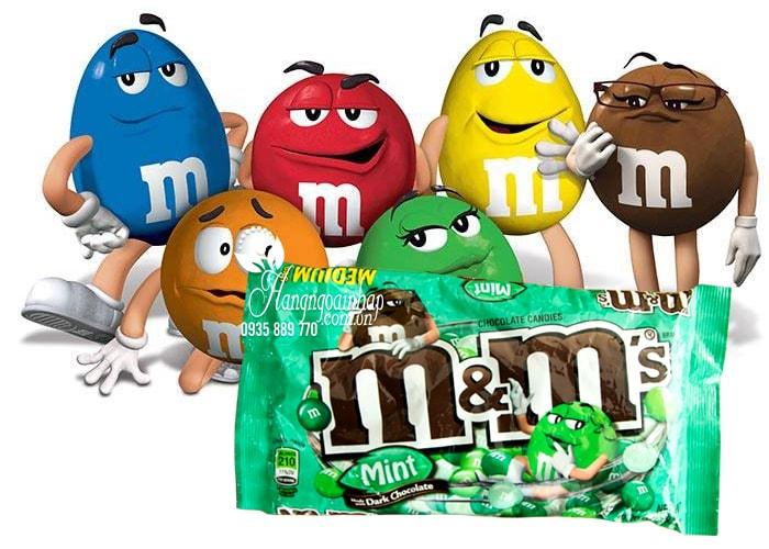 Kẹo socola M&M 323g của Mỹ, chính hãng