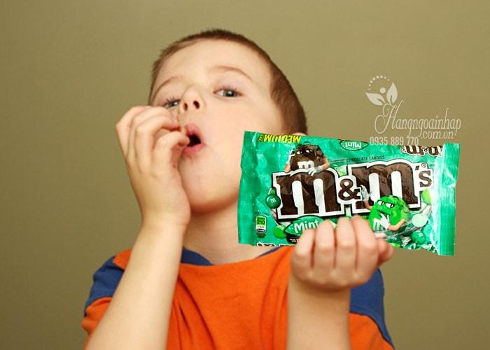 Kẹo socola M&M 323g của Mỹ, hàng chính hãng