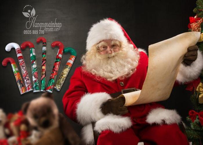 Kẹo Socola Noel hình cây dù của Mỹ