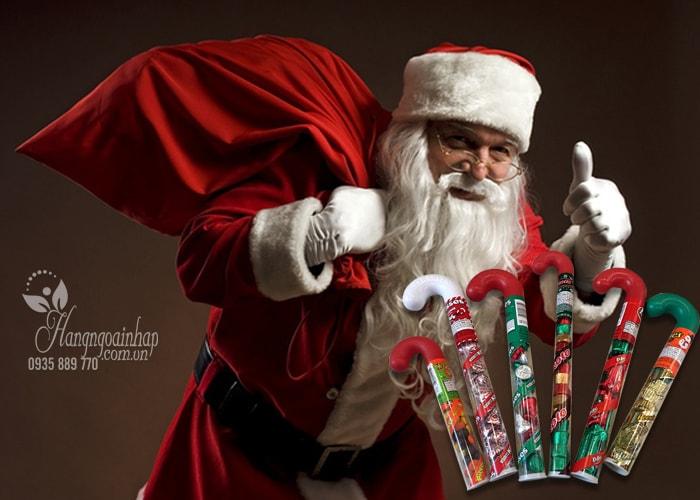 Kẹo Socola Noel hình cây gậy Mỹ